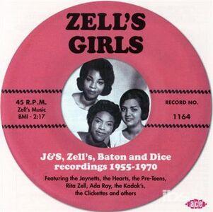 Foto Cover di Zell's Girls, CD di  prodotto da Ace