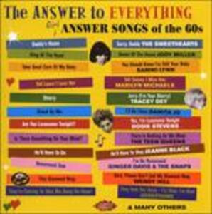 CD Answer to Everything. Girl Answer Songs  0