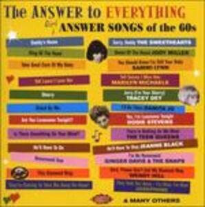 Foto Cover di Answer to Everything. Girl Answer Songs, CD di  prodotto da Ace 0