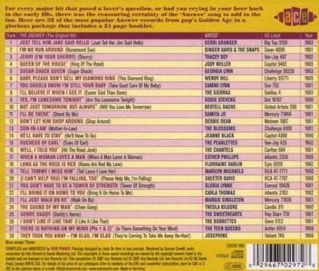 Foto Cover di Answer to Everything. Girl Answer Songs, CD di  prodotto da Ace 1