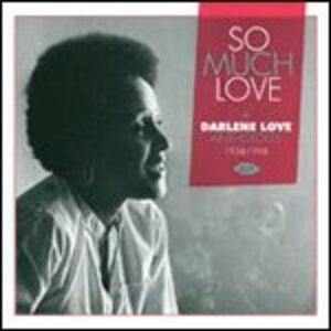 Foto Cover di So Much Love. Anthology 1958-1998, CD di Darlene Love, prodotto da Ace
