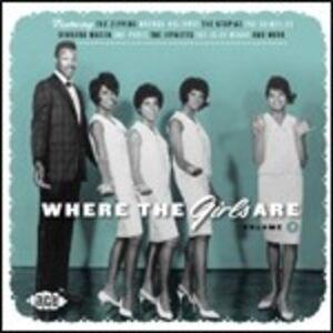 Foto Cover di Where the Girls Are vol.7, CD di  prodotto da Ace