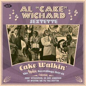 Foto Cover di Cake Walkin', CD di Al Cake Wichard (Sextette), prodotto da Ace