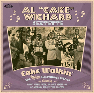 CD Cake Walkin' di Al Cake Wichard (Sextette)
