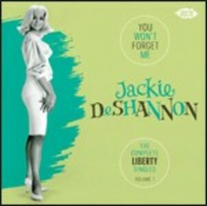 CD You Won't Forget Me di Jackie DeShannon