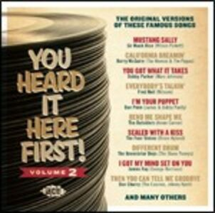 CD You Heard it Here First vol.2