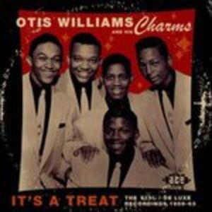 Foto Cover di It's a Treat. The King Deluxe Recording, CD di Otis Williams, prodotto da Ace Records