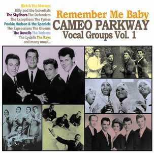CD Remember Me Baby. Cameo Parkway Vocals Group vol.1