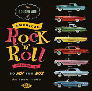 CD The Golden Age of American Rock 'n' Roll vol.12