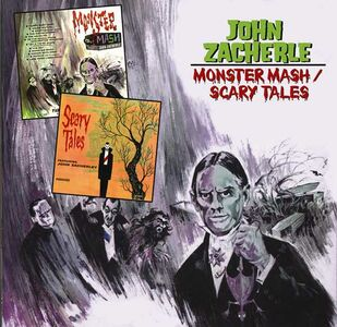 Foto Cover di Monster Smash - Scary Tales, CD di John Zacherle, prodotto da Ace