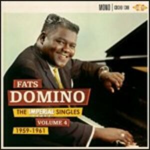 Foto Cover di Imperial Singles vol.4: 1959-1961, CD di Fats Domino, prodotto da Ace