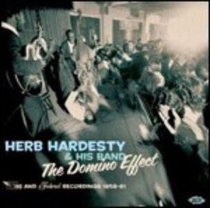 Foto Cover di The Domino Effect. Wing and Federal Recordings 1958-1961, CD di Herb Hardesty (Band), prodotto da Ace