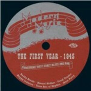 Foto Cover di Modern Music. The First Year 1945, CD di  prodotto da Ace