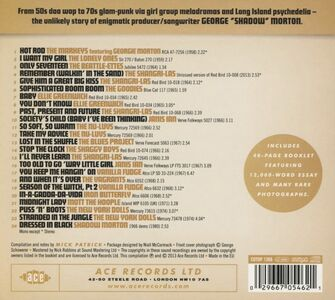 Foto Cover di Sophisticated Boom Boom. The Shadow Morton Story, CD di  prodotto da Ace 1