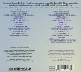 CD I Feel Like I'm di Country Joe & the Fish 1