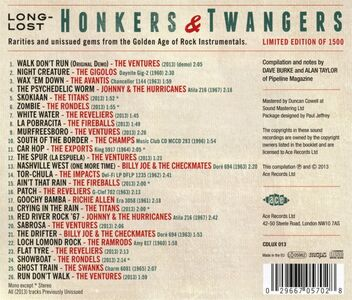 CD Long Lost Honkers  1