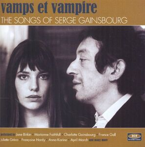 CD Vamps et vampire. The Songs of Serge Gainsbourg
