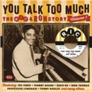 Foto Cover di You Talk Too Much, CD di  prodotto da Ace 0