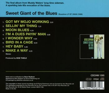 CD Sweet Giant of the Blues di Otis Spann 1