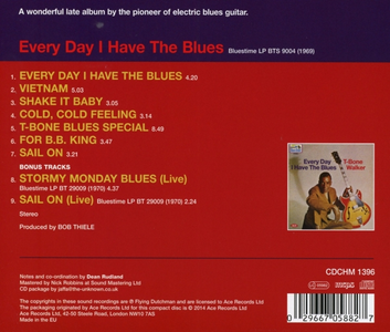 CD Every Day I Have the Blues di T-Bone Walker 1