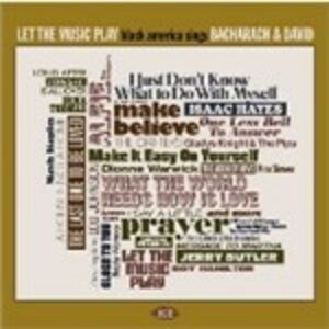 Foto Cover di Let the Music Play. Black America Sings Bacharach, CD di  prodotto da Ace 0
