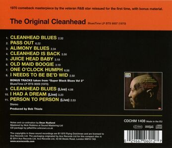 CD Original Cleanhead di Eddie Cleanhead Vinson 1