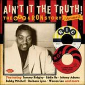 Foto Cover di Ain't It the Truth! The Ric & Ron Story vol.2, CD di  prodotto da Ace