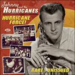 Foto Cover di Hurricane Force!, CD di Johnny and the Hurricanes, prodotto da Ace