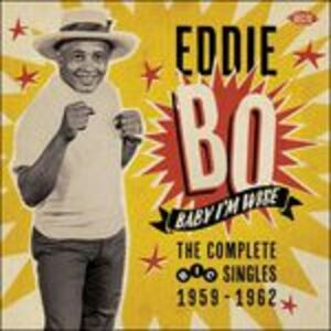 Foto Cover di Baby I'm Wise. The Complete Ric Singles, CD di Eddie Bo, prodotto da Ace