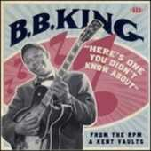 CD Here's One You Didn't Know About B.B. King