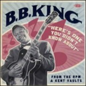 CD Here's One You Didn't Know About di B.B. King