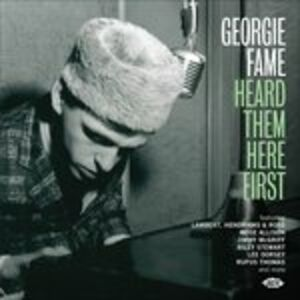 CD Heard Them Here First di Georgie Fame