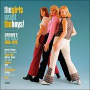 CD Girls Want the Boys! Sweden's Beat Girls 1964-1970