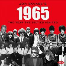 Jon Savage's 1965. The Year the Sixties Ignited - CD Audio
