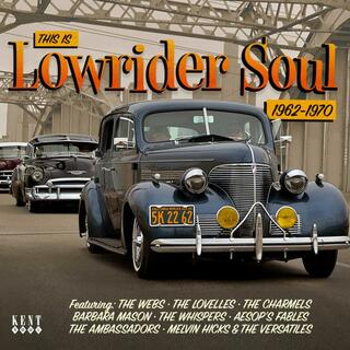 CD This Is Lowrider Soul