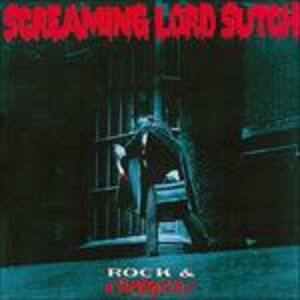 CD Rock and Horror di Screaming Lord Sutch