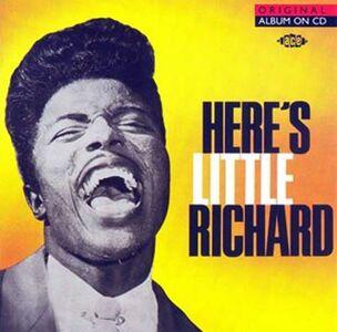 Foto Cover di Here's Little Richard, CD di Little Richard, prodotto da Ace