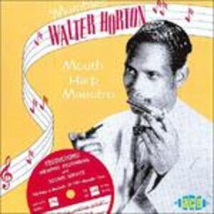 CD Mouth Harp Maestro di Walter Horton