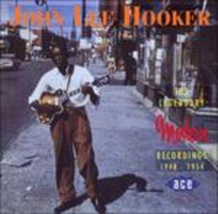 CD Legendary Modern Recordings di John Lee Hooker 0
