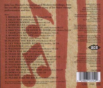 CD Legendary Modern Recordings di John Lee Hooker 1