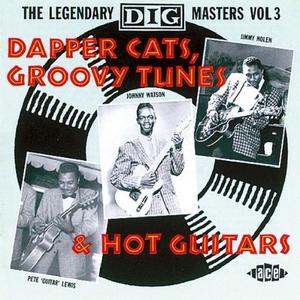 CD Dapper Cats, Groovy Tunes & Hot Guitars