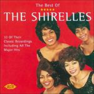 Foto Cover di Best of, CD di Shirelles, prodotto da Ace