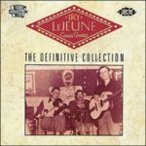 CD Cajun's Greatest. The Definitive Collection di Iry Lejeune