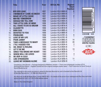 CD Original British Hit Singles di Everly Brothers 1