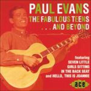 CD Fabulous Teens ... and Beyond di Paul Evans