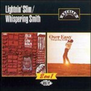 CD High & Low Down - Over Easy Lightnin' Slim , Whispering Jack Smith