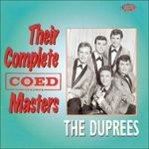 CD Their Complete Coed Masters di Duprees