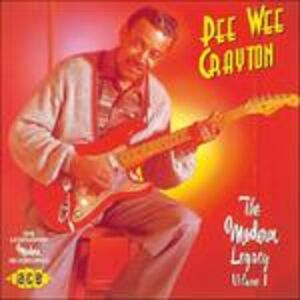 CD Modern Legacy vol.1 di Pee Wee Crayton