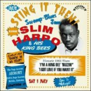CD Sting it Then! di Slim Harpo