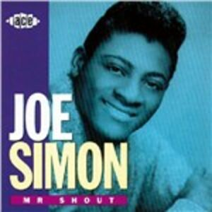 CD Mr. Shout di Joe Simon